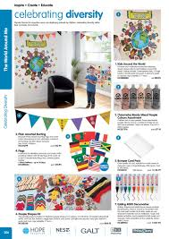 International Bunting Flags Early Years International 2016 17 The World Around Me By Findel