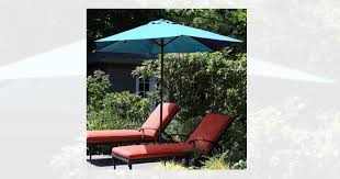 Walmart Patio Umbrella Walmart 9 Aluminum Patio Umbrella With Auto Crank By Garden