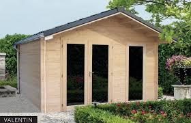chalet bureau ext駻ieur abris jardin bois gamme premium bureaux et chalets haut de gamme