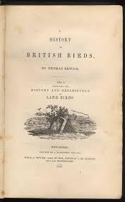a history of british birds wikipedia