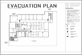 home daycare evacuation plan sample home plan