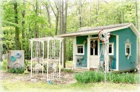 Garden Shed Decor Ideas She Shed Trend How To Make Your Own She Shed