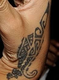 rihanna tribal hand tattoo design photo 10 2017 real photo
