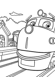 chuggington coloring pages wilson depot kids printable free