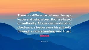 Blind Obedience To Authority Klaus Balkenhol Quote U201cthere Is A Difference Between Being A