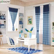 luxury scotland curtains for living room thick plaid drapes for