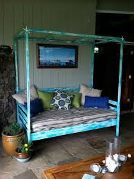 Outdoor Day Bed by Ana White Outdoor Day Bed With Canopy Diy Projects