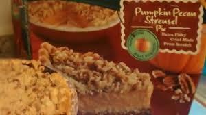 marie calendars thanksgiving marie callender s pumpkin pecan streusel pie youtube