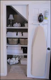 ironing board closet cabinet 15 gorgeous bathroom organizers idea box by rebekah charming