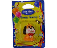 gateau anniversaire animaux bougie décorative animal chien pekinois idéal gateau fête et