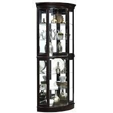 lighted curio cabinet oak beautiful corner lighted curio cabinet for home co lighted corner