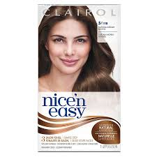 nice n easy hair color chart clairol nice n easy permanent hair color 5 118 natural medium