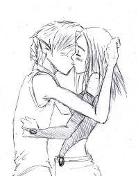 kiss sketch bbxrae by pizet on deviantart