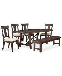 dining room furniture sets ember 6 dining room furniture set created for macy s
