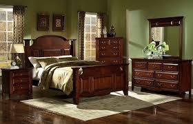 Black Leather Bedroom Sets Leather Headboard Bedroom Set Cherry Furniture Wood Faux Black