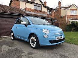 2013 fiat 500 colour therapy 1 2 blue 12 months mot 1 previous