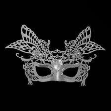 silver masquerade masks silver masquerade masks ebay