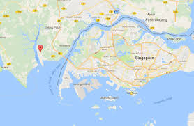 Map Of Singapore Wild Shores Of Singapore Johor Oil Spill Affecting Port Of