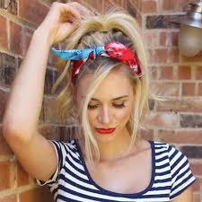 hairstyles with headbands foe mature women feminine bandana hairstyle ideas for girls 2017 haircuts