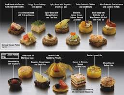 canapes finger food collection of canapes petiscos canapes collection