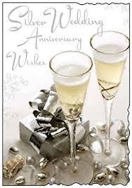 wedding wishes uk silver wedding anniversary wishes card co uk electronics