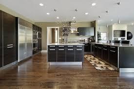 kitchen of the day a large modern kitchen with dark espresso