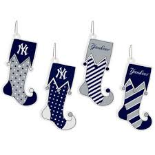 Buy Christmas Decorations New York by New York Yankees Holiday Decorations Ornaments Stockings Santa