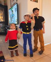 olive oyl costume popeye olive oyl and bluto matching sibling costumes for kids
