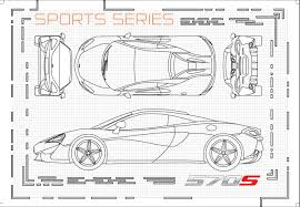 mclaren f1 drawing mclaren automotive app markers