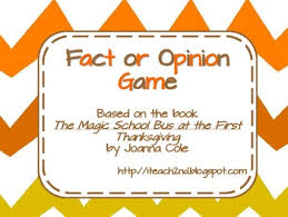 fact or opinion magic school at the thanksgiving by