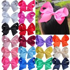 hair bows 40 pcs 6 inch large hair bow hair hairbows boutique kids