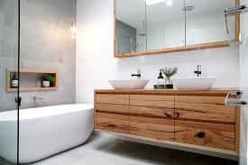Modern Bathroom Cabinetry Introducing Our Range Of Floating Timber Vanities Timber Vanity