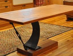 Antique Conference Table Reclaimed Wood Table With Original Tenons Antique Woodworks
