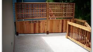 home dek decor privacy deck railing modern screen for decks home decorating ideas