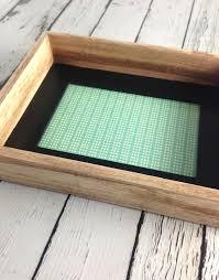wood framed 4 x 6 wood framed photo frame with black inside edge silver in