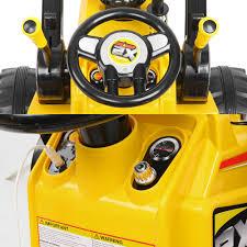 224 13 kids ride on bulldozer u2013 yellow