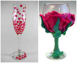 Wine Glass Decorating Ideas Wedding Glasses Decoration Ideas Living Room Ideas