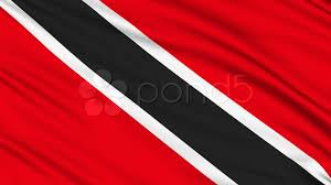 Flag For Trinidad And Tobago Trinidad And Tobago Flag With Real Structure Of A Fabric