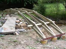 wooden bridge plans wood garden bridge plans backyard bridge plans outdoor goods 24 style