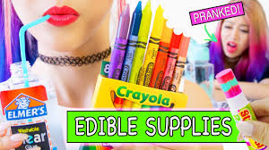 Diy Hacks Youtube by Diy Edible Supplies 8 Pranks For Back To Youtube