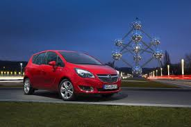 Lightly Refreshed Opel Meriva Debuts At The Brussels Auto Show