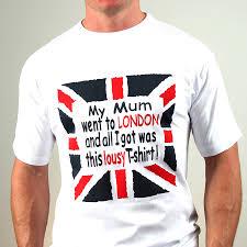 British Flag Shirts Lousy T Shirts Mum Brother Sister U0026 More
