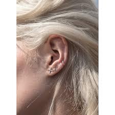 tiny earrings 56 8mm hoop earrings 8 mm coil wire hoop earrings 925 sterling
