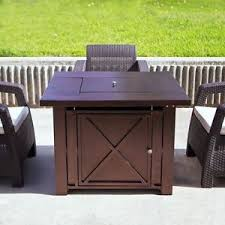 Gas Firepit Table Lpg Pit Table Outdoor Gas Fireplace Propane Heater Patio