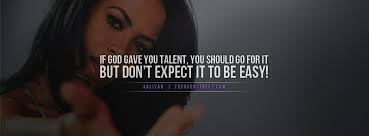 aaliyah dont expect it to be easy facebook cover