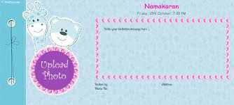 Indian Wedding Card Matter Pdf Outstanding Baby Naming Ceremony Invitation Cards 52 For Indian