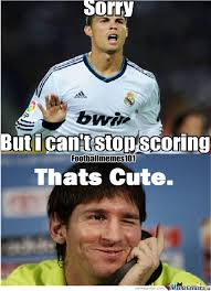 Funny Messi Memes - ronaldo gets owned by messi by mexlove10 meme center