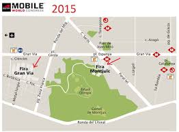 check the u0027mwc 2015 barcelona u0027 exact location and floor plans