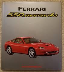maranello italy ferrari 550 maranello bruno alfieri automobilia 1997 italy hbdj