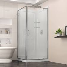 shower enclosures shower bases walls and doors the mine